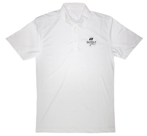 SENDIT - FLAGSHIP POLO - WHITE