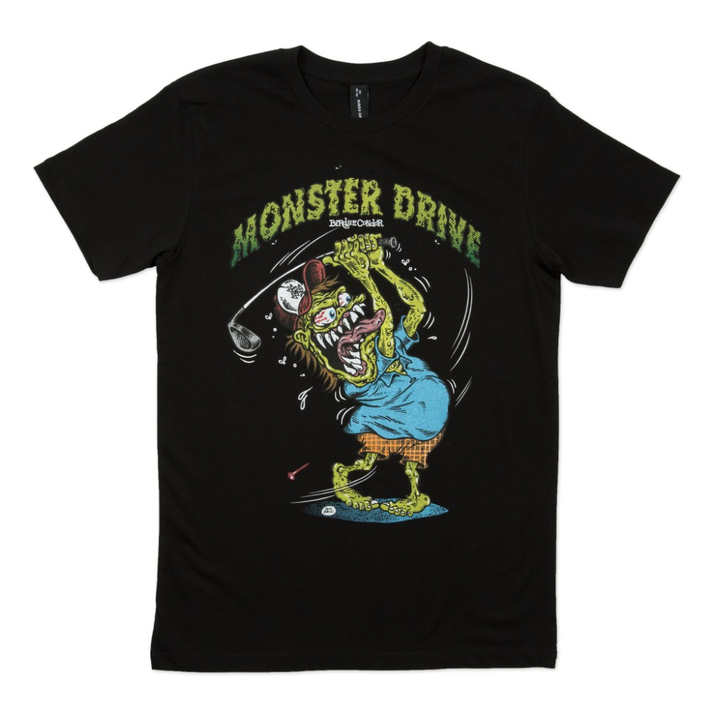 BIRDS OF CONDOR - MONSTER DRIVE TEE BLACK