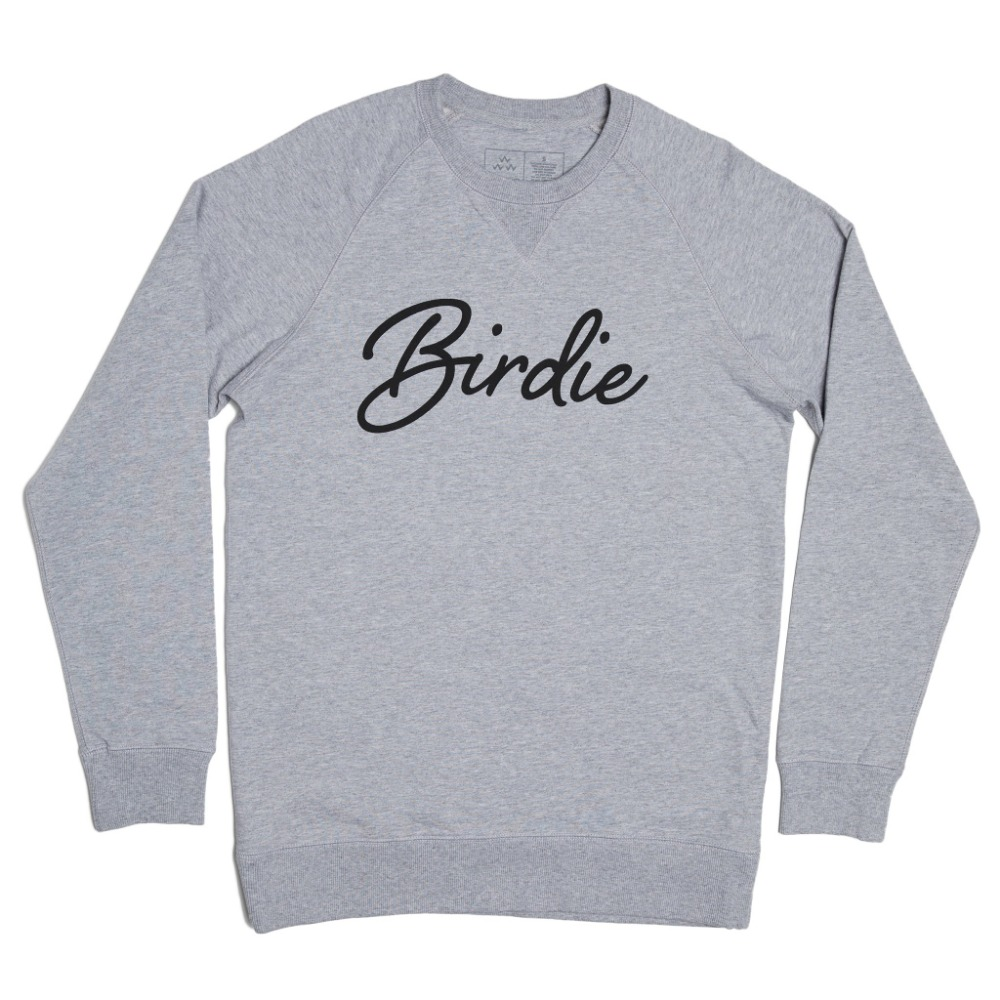 BIRDS OF CONDOR - BIRDIE SWEATS GREY/BLACK