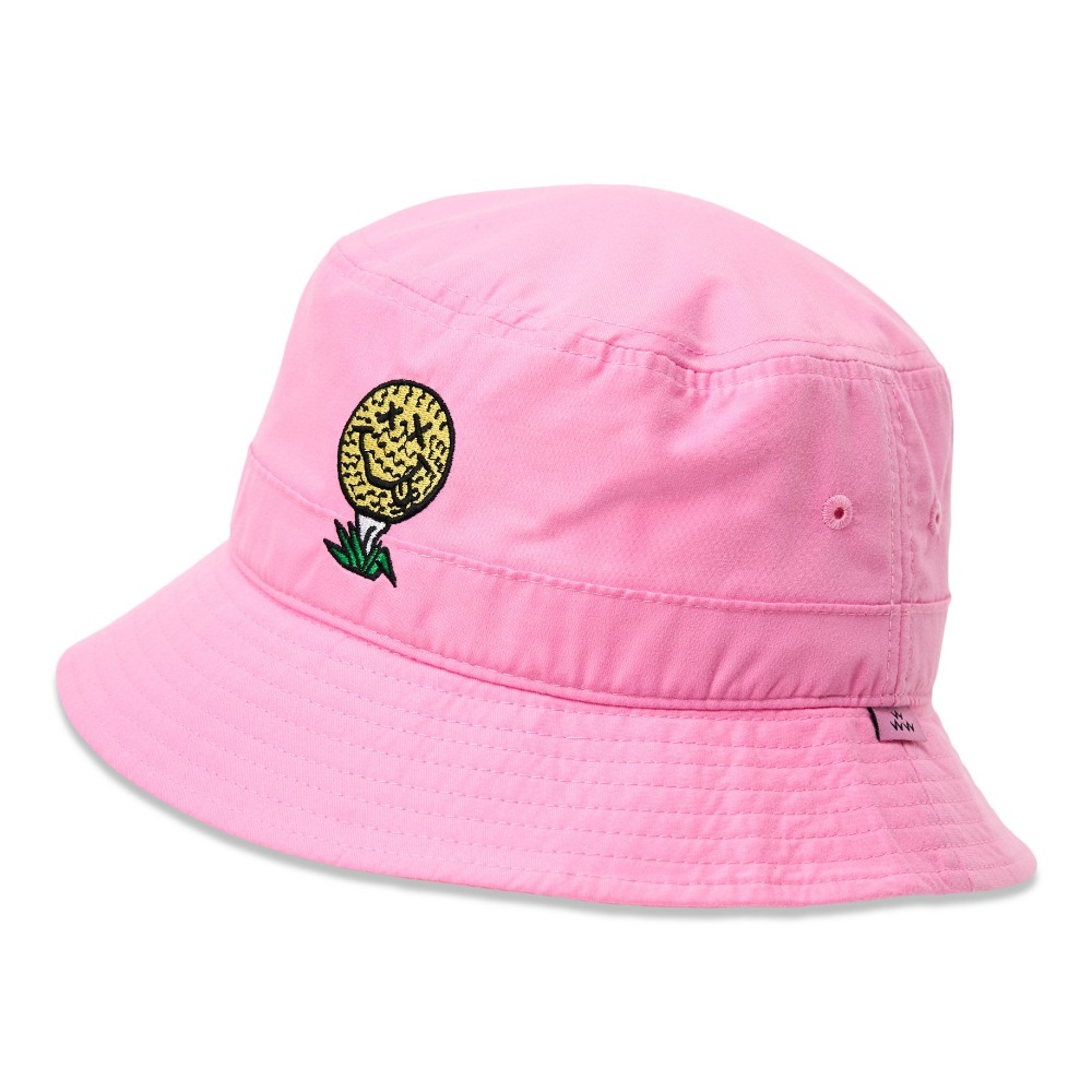 BIRDS OF CONDOR - BUCKET HAT PINK