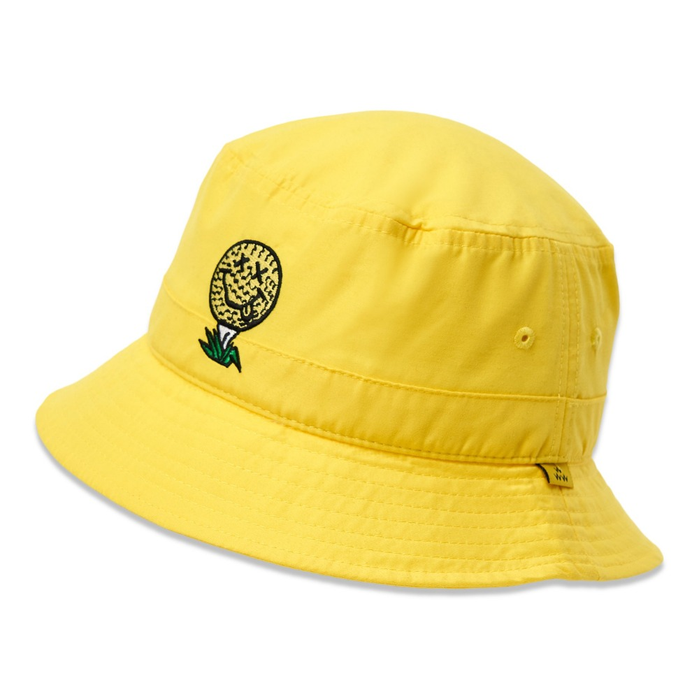 BIRDS OF CONDOR - BUCKET HAT YELLOW