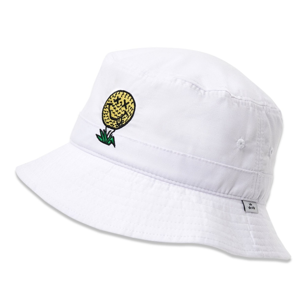BIRDS OF CONDOR - BUCKET HAT WHITE